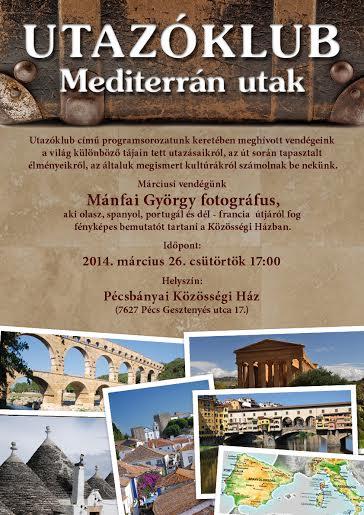 Utazóklub-mediterrán utak