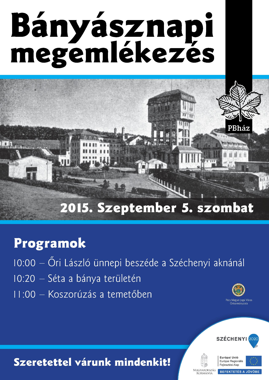bányásznapi plakát (1)
